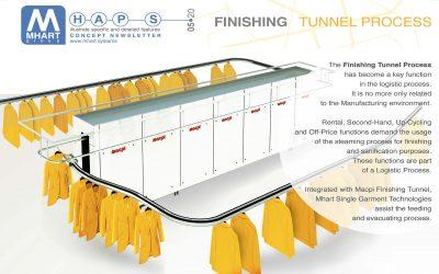 MHAPS – FINISHING TUNNEL PROCESS